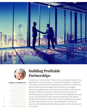 Building Profitable Partnerships